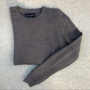 Allsaints crew neck sweater